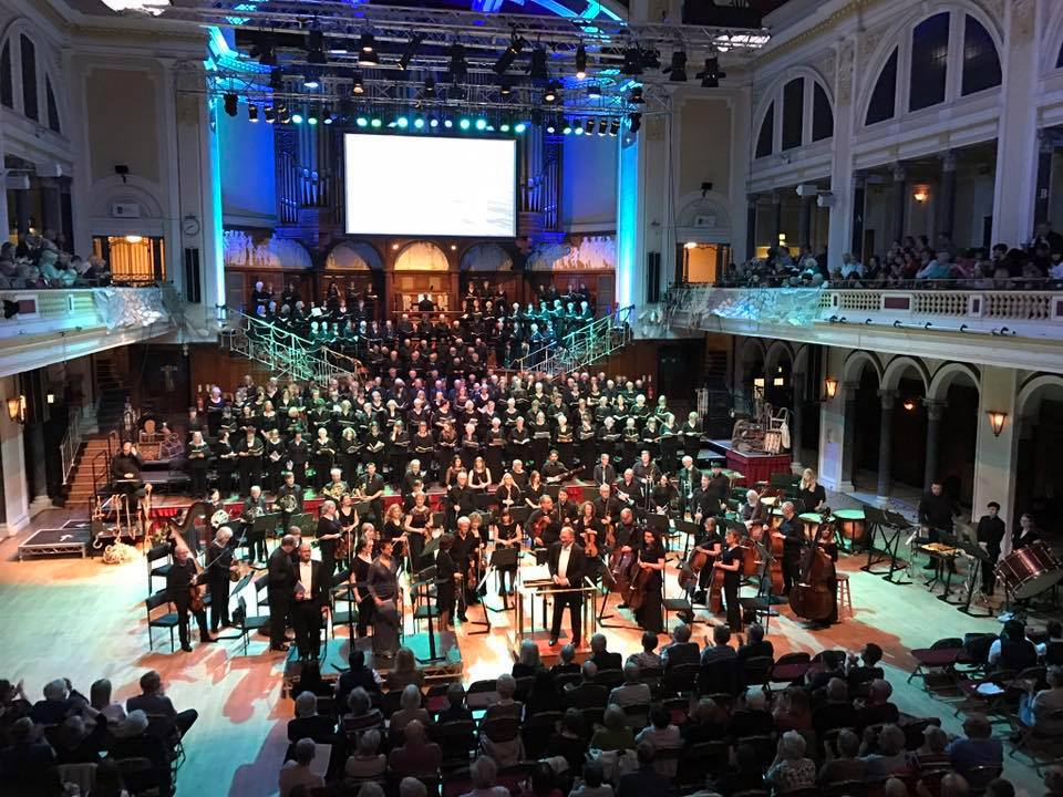 Hull City of Culture concert with Hull Choral Union, Grimsby Philharmonic Choir, and Grimsby Bach Choir